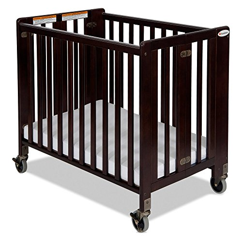 Foundations Hideaway Full Sized Folding Crib - 1