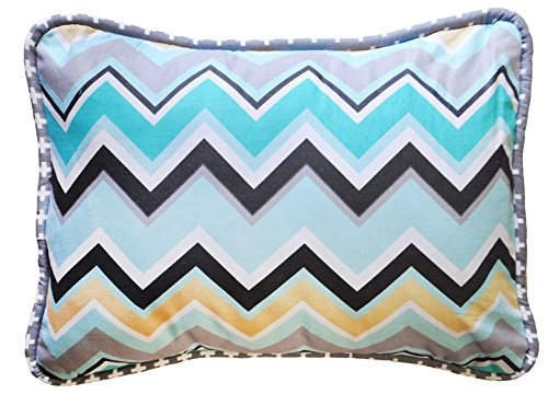 New Arrivals Accent Pillow, Piper in Gray