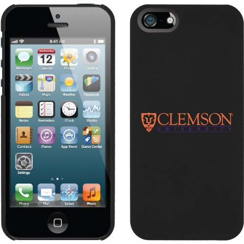 Special Sale Clemson University design on iPhone 5 Thinshield Snap-On Case by Coveroo