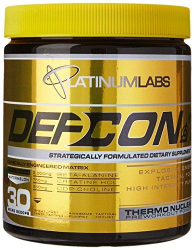 Platinum Labs Defcon 1 2nd Strike Pre-Workout Powder, Watermelon, 7.9 Ounce (Platinum Pre Workout Powder compare prices)