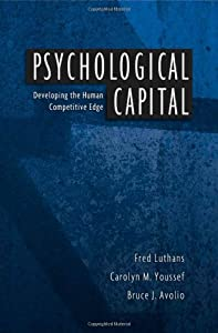 "Cover of ""Psychological Capital: Developi..."