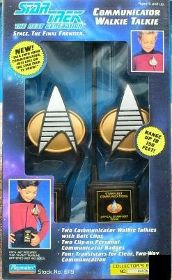 Star Trek Communicator Walkie Talkie