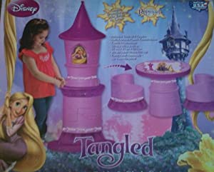 Disney Tangled Transforming Castle Table and Chair Set