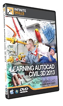 Learning AutoCAD Civil 3D - Training DVD - Video