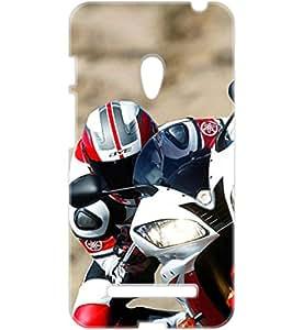 a AND b Designer Printed Mobile Back Cover / Back Case For Asus ZenFone 5 (ZEN_5_3D_1509)