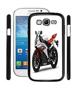 Fuson 2D Fancy Print Designer Premium Case Cover For Samsung Galaxy Grand Duos i9080 / i9082 - Racing Yamaha D66
