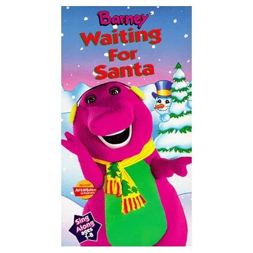 Barney-waiting-for-santa Images