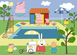 Peppa Pig 50 Piece Puzzle Swimming Pool Toys Games