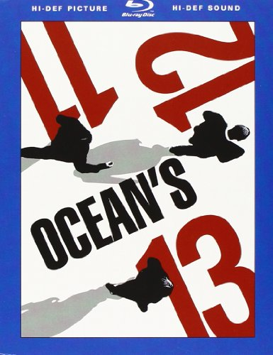Ocean's 11 - 12 - 13 [Blu-ray] [IT Import]