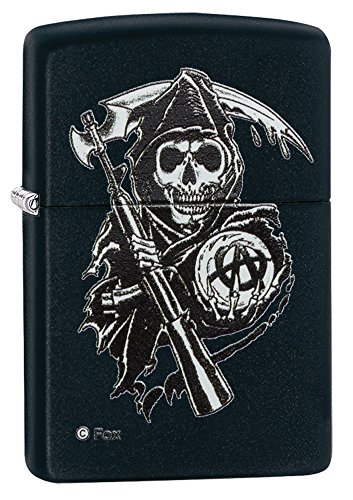 zippo-sons-of-anarchy-reaper-windproof-pocket-lighter-black-matte