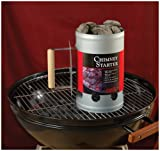 Charcoal Companion Silver Chimney Charcoal Starter