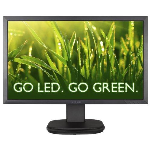 "Viewsonic Vg2439M-Led 24"" Led Lcd Monitor Adjustable Display Angle - 1920 X 1080 - Speakers - Dvi - Vga"