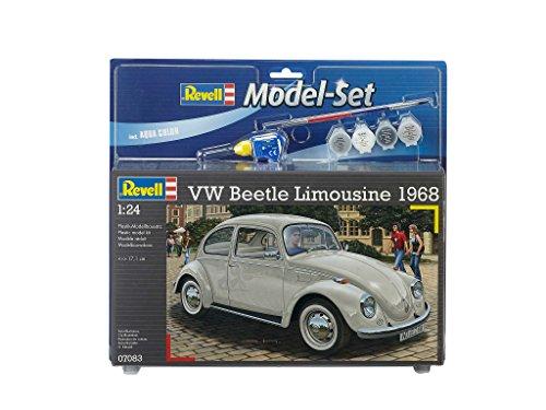 revell-maqueta-modelo-set-vw-beetle-limousine-68-escala-124-67083