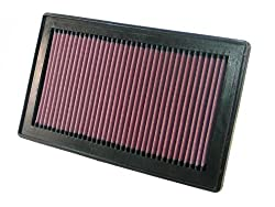 K&N 33-2921 High Performance Replacement Car Air Filter