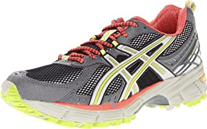 ASICS Women's GEL-Kahana 6 Trail Running Shoe,Lightning/Silver/Coral,8 M US