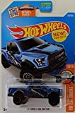 Hot Wheels, 2016 HW Trucks, '17 Ford F-150 Raptor [Blue] Die-Cast Vehicle #150/250 [並行輸入品]