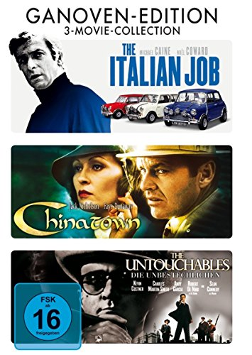 Chinatown - The Untouchables (Die Unbestechlichen) - The Italian Job - 3DVD Box