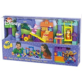 Disney Pooh 100 Acre Wood Adventure Set Bloks