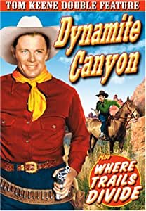 Tom Keene Double Feature: Dynamite Canyon (1941) /Where Trails Divide (1937) (DVD) (1937) (All Regions) (NTSC) (US Import)