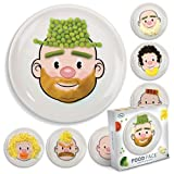 Fred Kids Plate Food Face Dish Dinner Mealtime FUN