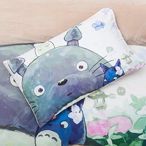 Totoro Bed Sheets Queen