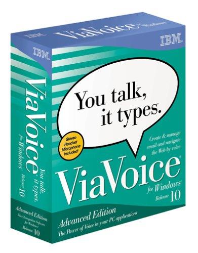 Viavoice for Windows Advanced Edition 10.0