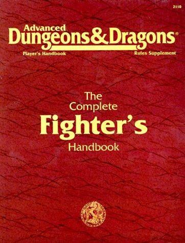 The Complete Fighter's Handbook, Aaron Allston