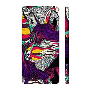 Enthopia Designer Hardshell Case What does the fox say? Back Cover for Sony Xperia XA