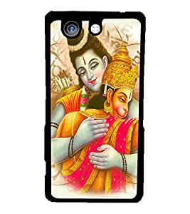 PRINTVISA Religious Lord Ram Case Cover for Sony Xperia Z4 Mini::Sony Xperia Z4 Compact