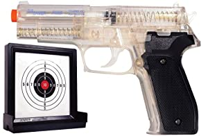 Soft Air Sig Sauer P226 Spring Powered Airsoft Pistol with Target