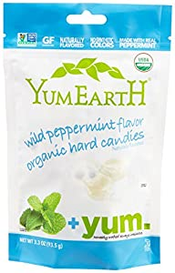 YumEarth Organic Wild Peppermint Drop…