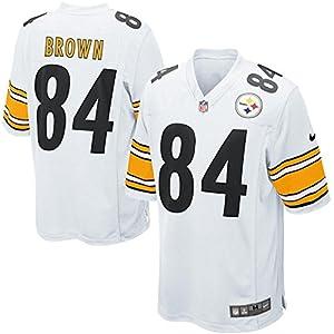 Mens Pittsburgh Steelers Antonio Brown Nike Game Jersey at SteelerMania