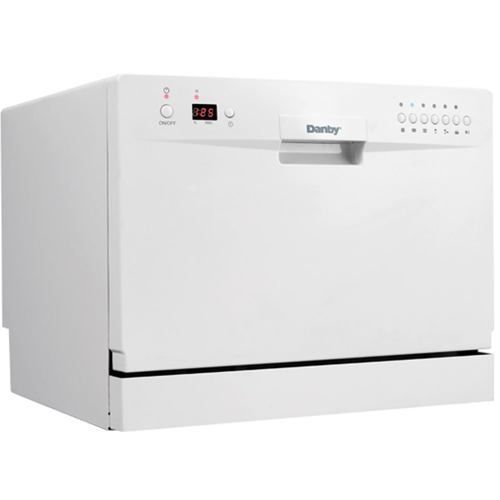 Danby DDW611WLED Countertop Dishwasher – White