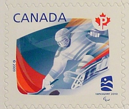 Canadian Canada Vancouver Olympics 2010 Stamp Mint