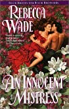 An Innocent Mistress: Four Brides for Four Brothers