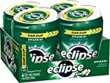 Eclipse Big E Spearmint Gum, 60-Count Pieces (Pack of 4)
