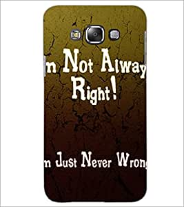 PrintDhaba Quote D-2876 Back Case Cover for SAMSUNG GALAXY GRAND MAX (Multi-Coloured)