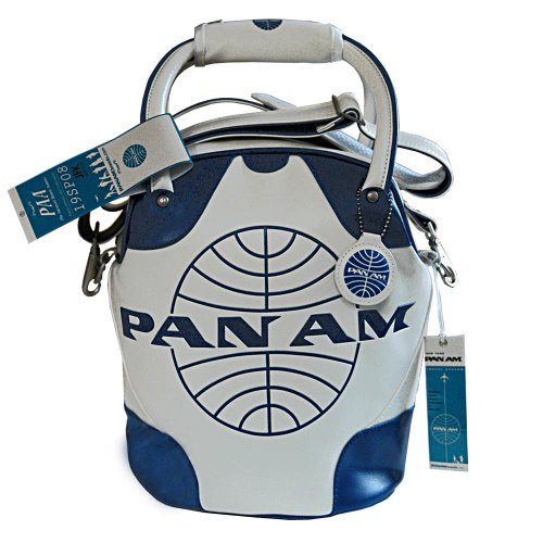 Pan Am Vintage-Style Mini Shoulder Bag