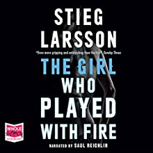 The Girl Who Played with Fire Audiobook by Stieg Larsson Narrated by Saul Reichlin