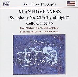 Symphony 22: City of Light / Cto Cello & Orchestra