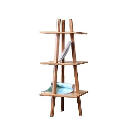 Estantería de la sala de estar Estantería de la cama Estantería de la cama Estantería de bambú
