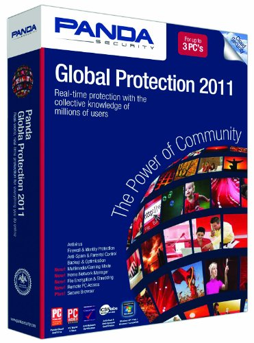 Panda Global Protection 2011 3-PC- Soft Pack