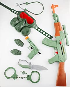 Toy Guns CAMO GREEN AK-47 TOY GUN SET at Sears.com