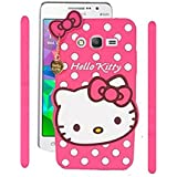 Darrel 3D Designer Cute Hello Kitty Back Cover For Samsung Galaxy J7 Nxt - Pink