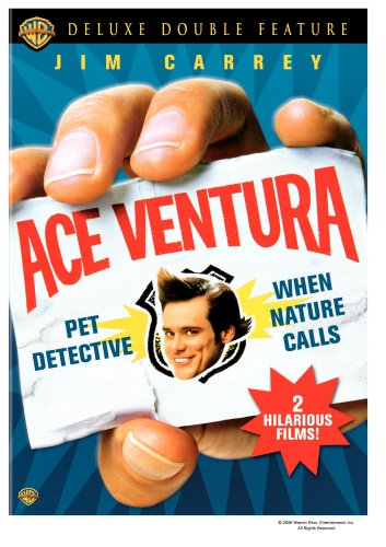 Cover art for  Ace Ventura Deluxe Double Feature (Pet Detective / When Nature Calls)