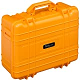 Outdoor case, Type 40, orange and foam insert