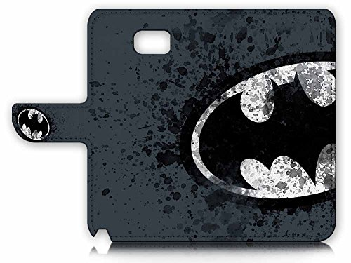 Pinky Beauty Australia Samsung Galaxy Note 5 Flip Wallet Case Cover & Screen Protector & Charging Cable Bundle! A8183 Batman at Gotham City Store