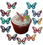 Toppercake Edible Wafer Butterfly Cup...