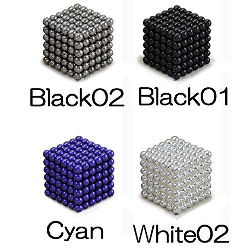 buckyballs マグネットボール5mm 216+6個 (BLACK02(灰色))