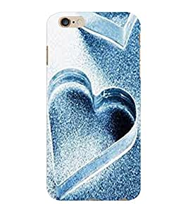 ColourCraft Lovely Hearts Design Back Case Cover for APPLE IPHONE 6 PLUS